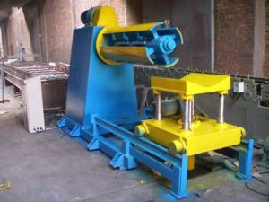 Sheet Metal Coil Decoiler with Loading Car pictures & photos