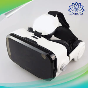 Vr Box 3D Glasses OEM Factory 3D Cardboard Helmet Virtual Reality Vr Headset for 4-6' Mobile Phone