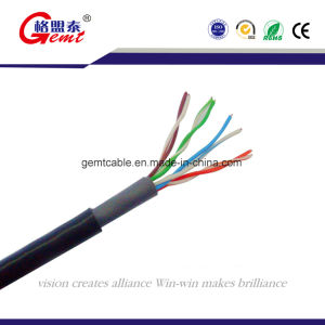 Network Copper Cat5e UTP FTP SFTP LAN Cable Cat5e Cable pictures & photos