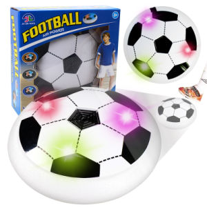 ea1d72e1cba0 Air Power Soccer Football Indoor Outdoor Hover Ball Game with Foam Bumpers  and Light up LED