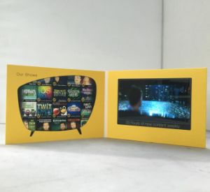 7inch Screen Video Greeting Card pictures & photos