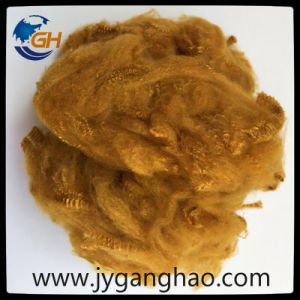 Polyester Staple Fiber in Dark Coffee pictures & photos