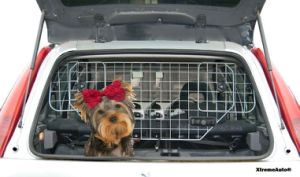 PEUGEOT 2008 HEAVY DUTY HEADREST MESH DOG GUARD