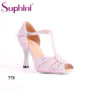 China Suphini 775 New Design Women Ballroom Dance Shoes 35 Inch