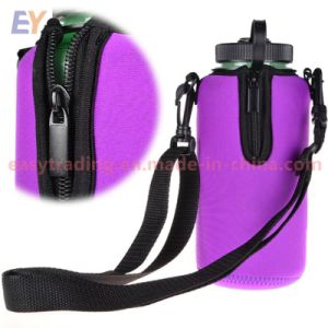 Water Bottle carrier Insulated Cover Bag Kettle Pouch with Adjustable Strap 40oz