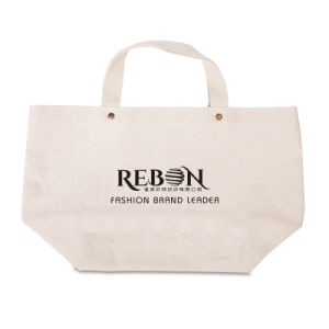 Cotton Fabric Bags Reusable Adv Promotional With 1 Color Logo Printing