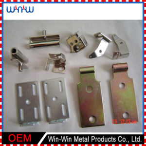 OEM Fabrication Punching and Bending Zinc Plated Customized Sheet Metal Stamping pictures & photos