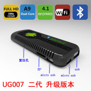 Ug007II 1GB 8GB Dual Core Android 4.2 Mini PC, WiFi 1080P Google TV Dongle