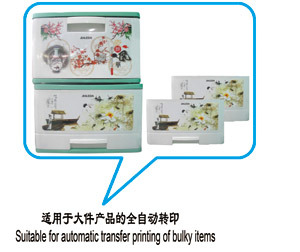 Heat Transfer Machine for Big Plastic Products (SJ300Z) pictures & photos