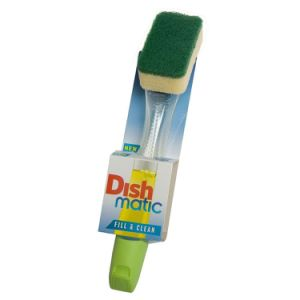 3 X Dishmatic Washing up Brushes with Heavy Duty Sponge pictures & photos