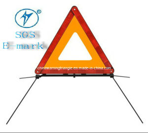 Red Warning Triangle for Safety