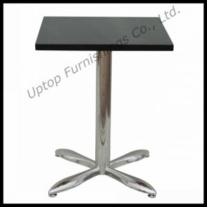 Black Artificial Stone Marble Top Cafe Table (SP-RT126) pictures & photos
