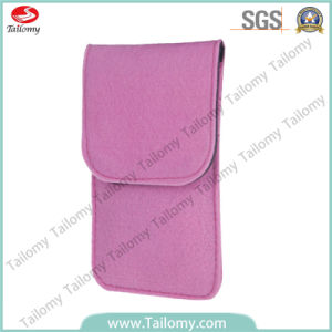 New Fashion Felt Mobile Phone Pouch for iPhone 5