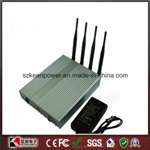 Cell Phone Jammer Jamming with Remote Control 40 Meters
