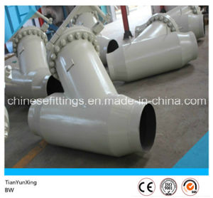 Carbon Steel ANSI Bw Full Weld Y Valve Strainer pictures & photos