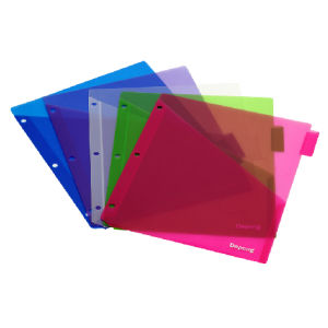 3 Hole Index Divider/ Pocket Portfolio (F-A002) pictures & photos
