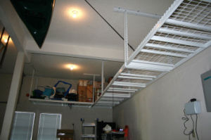 Garage Storage Shelf Hanging Racks Ceiling Shelf Organizer Bike Rack Organizer pictures & photos