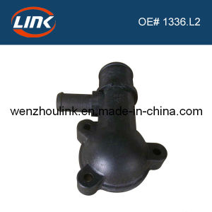 Car Thermostat Housing for Peugeot Parts (1336. L2)
