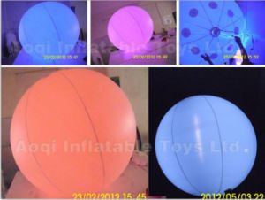 Inflatable Advertising Decoration, Custom Lighting Balloon