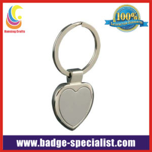 Heart Shape Zinc Alloy Keychain (HS-KC058)