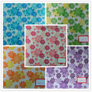100% Printed Polypropylene Nonwoven Fabric--New Arrival Flower Designs pictures & photos