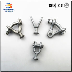 Forged Pole Line Fittings Insulator Y Clevis Ball pictures & photos
