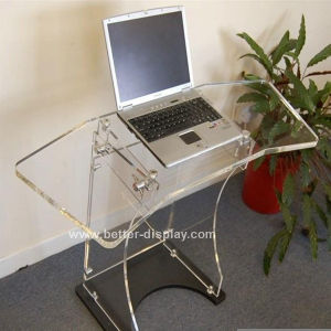 Clear Acrylic Portable Computer Desk Folding Table (BTR-Q2007) pictures & photos