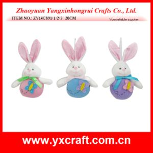 Easter Decoration (ZY14C891-1-2-3 20CM) Easter Baby Rabbit pictures & photos