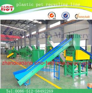 Plastic Film Recycling Machine Line pictures & photos