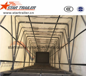 3 Axles Curtain Side Semitrailer pictures & photos