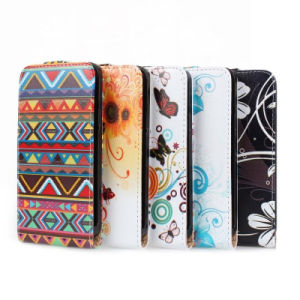 Beautiful PU Leather Filp Cell/Mobile Phone Case