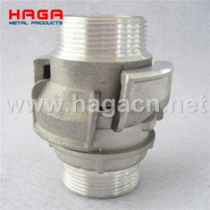Aluminum Guillemin Coupling Male Thread with Locking Ring pictures & photos