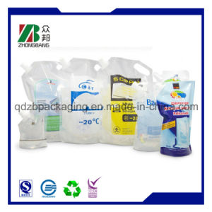Stand up Disposable Beverage Bags with C pictures & photos