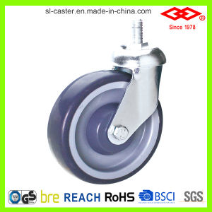 TPR Casters for Cart (L121-34C100X32) pictures & photos
