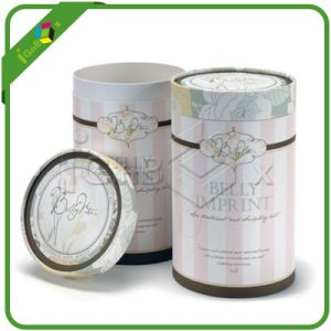 Round Gift Boxes / Cylinder Box Packaging for Wedding pictures & photos