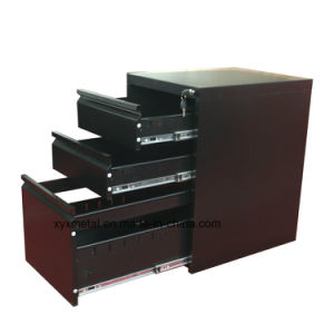 2016 Hot Selling High Quality Steel 2 Drawers File Cabinet with Casters pictures & photos