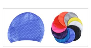 Man and Women Swimming Cap with Water Drop pictures & photos