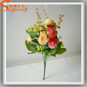 Classic Style Banquet Decoration Artificial Plant Rose Silk Flowers pictures & photos
