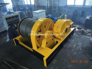 Electric Boat Winch for Pulling (JK5) on Slope pictures & photos