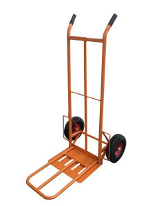 Foldable Pneumatic Tyre Hand Trolley (HT1827)