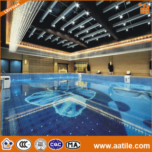 China glazed porcelain mosaic floor ceramic mosaic for for Pool design pattern