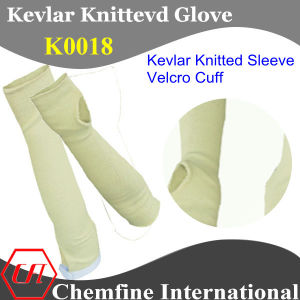 Kevlar Knitted Sleeve with Magic Tape pictures & photos