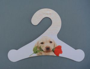 Eco-Friendly Fsc Paper Card Pet Clothes Cardboard Printed Hanger pictures & photos