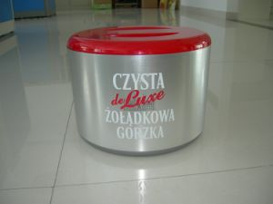 Plastic 10L Ice Bucket with Lid