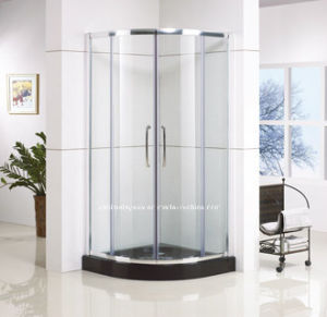 Quadrant Shape Sliding Shower Enclosure with Frame Designs (QA-R900)