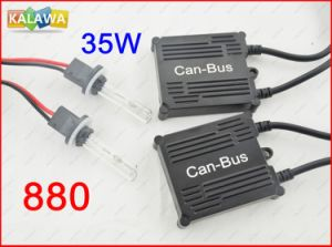 China ac h v w can bus ballast slim xenon hid kit set