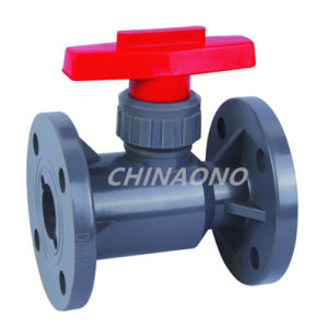 PVC Ball Valve Flange Type Ball Valve pictures & photos