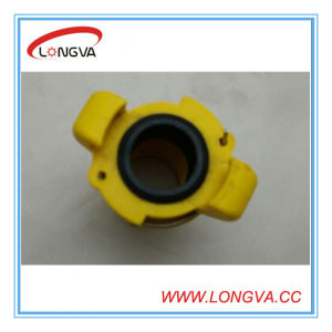 3/4′′ 110mm Yellow Coulping with EPDM Gasket pictures & photos