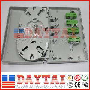 Fiber Optic Termination Box 4 Port Fiber Optic Socket