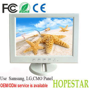 "High Resolution White Color 10.4"" Small LCD Monitor pictures & photos"
